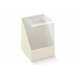 Коробка белая, кубик, арт.14433