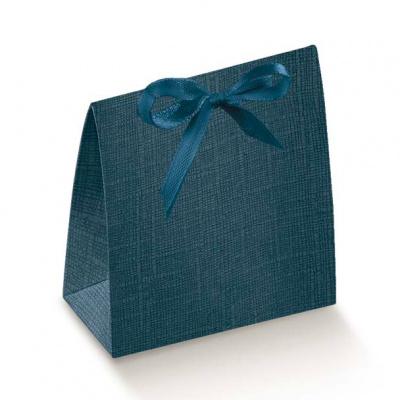 Коробка синяя, сумочка, арт.16382