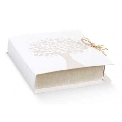 Коробка белая, книга, арт.16781
