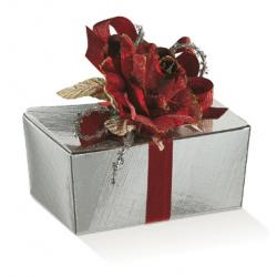 Коробка серебряная, шкатулка, арт.31304