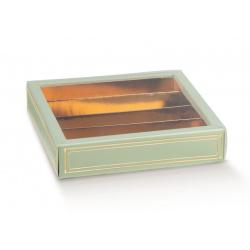 Коробка зеленая, пенал, арт.36230