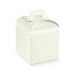 Коробка белая, панеттон, арт.36439