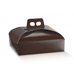 Коробка коричневая, тортина, арт.36935