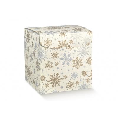Коробка белая, сундук, арт.38236