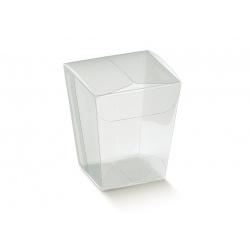 Коробка прозрачная, бонбоньерка, арт.12393