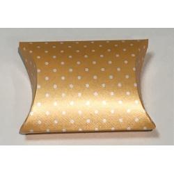 Коробка желтая, подушка, арт.12722