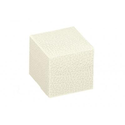 Коробка белая, кубик, арт.14535
