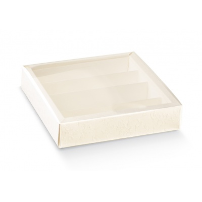 Коробка белая, пенал, арт.17790