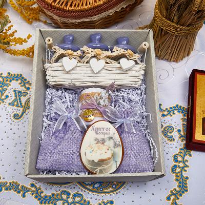 Подарочный набор «Лавандовая Пасха»