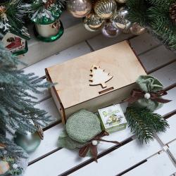 «Хвоя» - подарочный набор с чаем