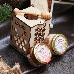 «Соты» - подарочный набор с медом