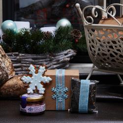 Подарочный набор с чаем «Миниатюра»