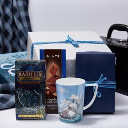 «Морская романтика» - игровой подарочный набор с чаем