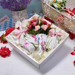 «Живопись» - сладкий подарочный набор с чаем