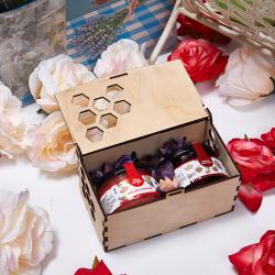«Сладкое наслаждение» - подарочный набор с медом