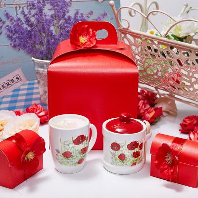 Подарочный набор «Красные маки»
