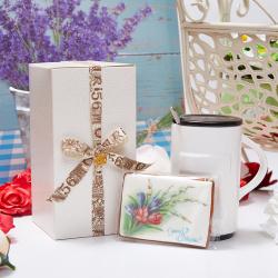 «Весенняя открытка» - подарочный набор