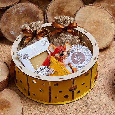 Подарочный сырный набор «Головка сыра»