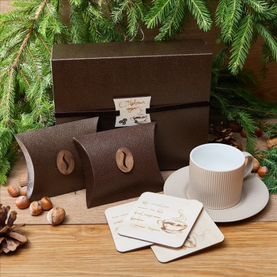 «Литературный кофе» - подарочный набор