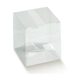 Коробка прозрачная, бонбоньерка , арт.12382