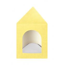 Коробка желтая, сумочка, арт.13401