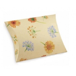 Коробка бежевая, подушка, арт.31900