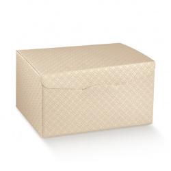 Коробка бежевая, сундук, арт.37552