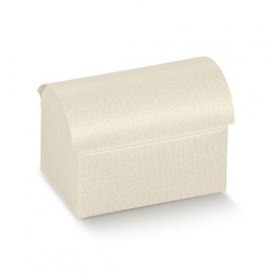 Коробка белая, сундучок, арт.14417