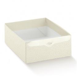 Коробка белая, с крышкой, арт.14564