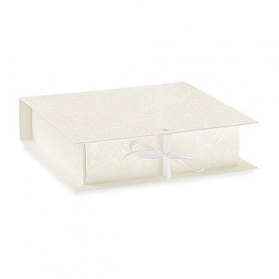 Коробка белая, книга, арт.17761