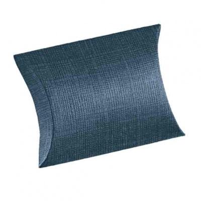 Коробка темно-синяя, подушка, арт.16270