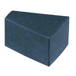 Коробка темно-синяя, бонбоньерка , арт.16422