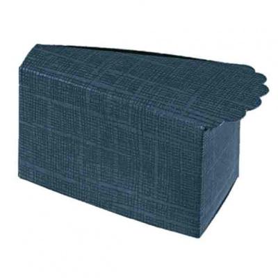 Коробка темно-синяя, бонбоньерка , арт.16423