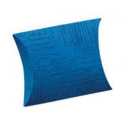 Коробка светло-синяя, подушка, арт.34202