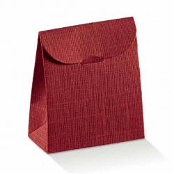 Коробка бордовая, сумочка, арт.4523