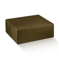 Коробка коричневая, сундук, арт.33289