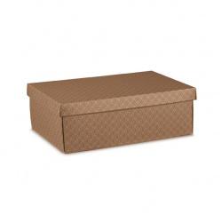 Коробка коричневая, с крышкой, арт.37269