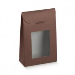 Коробка коричневая, сумочка, арт.37939