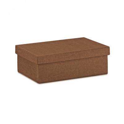 Коробка коричневая, с крышкой, арт.4937