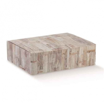 Коробка древесная, на 3 бутылки, арт.36831