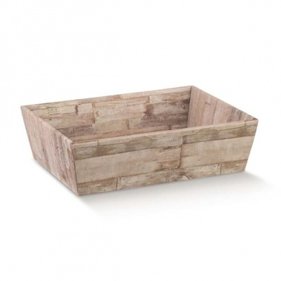 Коробка древесная, лукошко, арт.36833