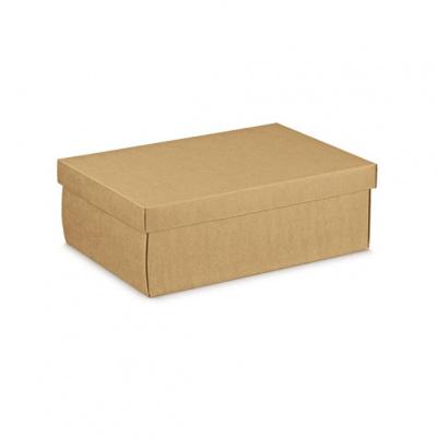 Коробка крафт, с крышкой, арт.35474