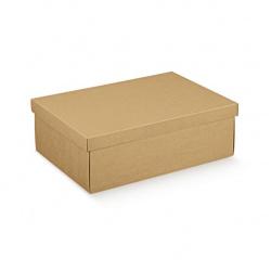 Коробка крафт, с крышкой, арт.35536