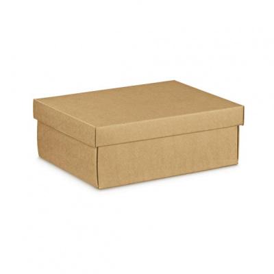 Коробка крафт, с крышкой, арт.35834
