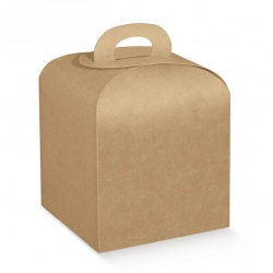 Коробка крафт, панеттон, арт.37241