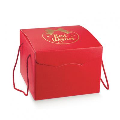 Коробка красная, сундук, арт.36279
