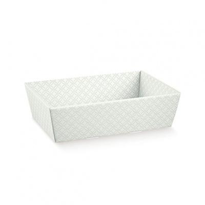 Коробка серая, лукошко, арт.37436