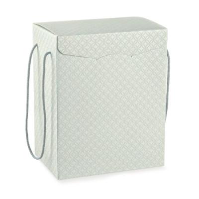 Коробка серая, сундук, арт.37417
