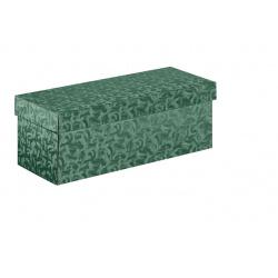 Коробка зеленая, с крышкой, арт.33047