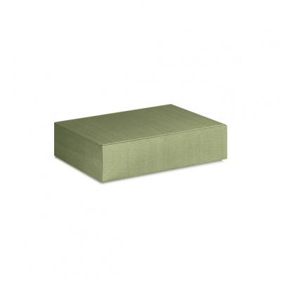 Коробка оливковая, на 2 бутылки, арт.34494
